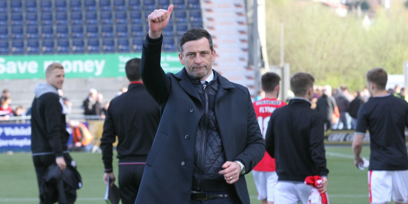 Reaction: Jack Ross post Falkirk