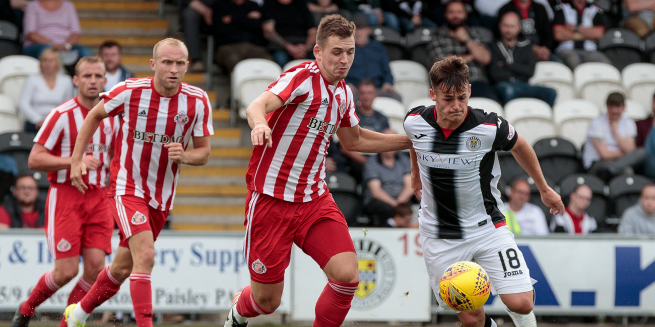 Match Report: St Mirren 0-6 Sunderland