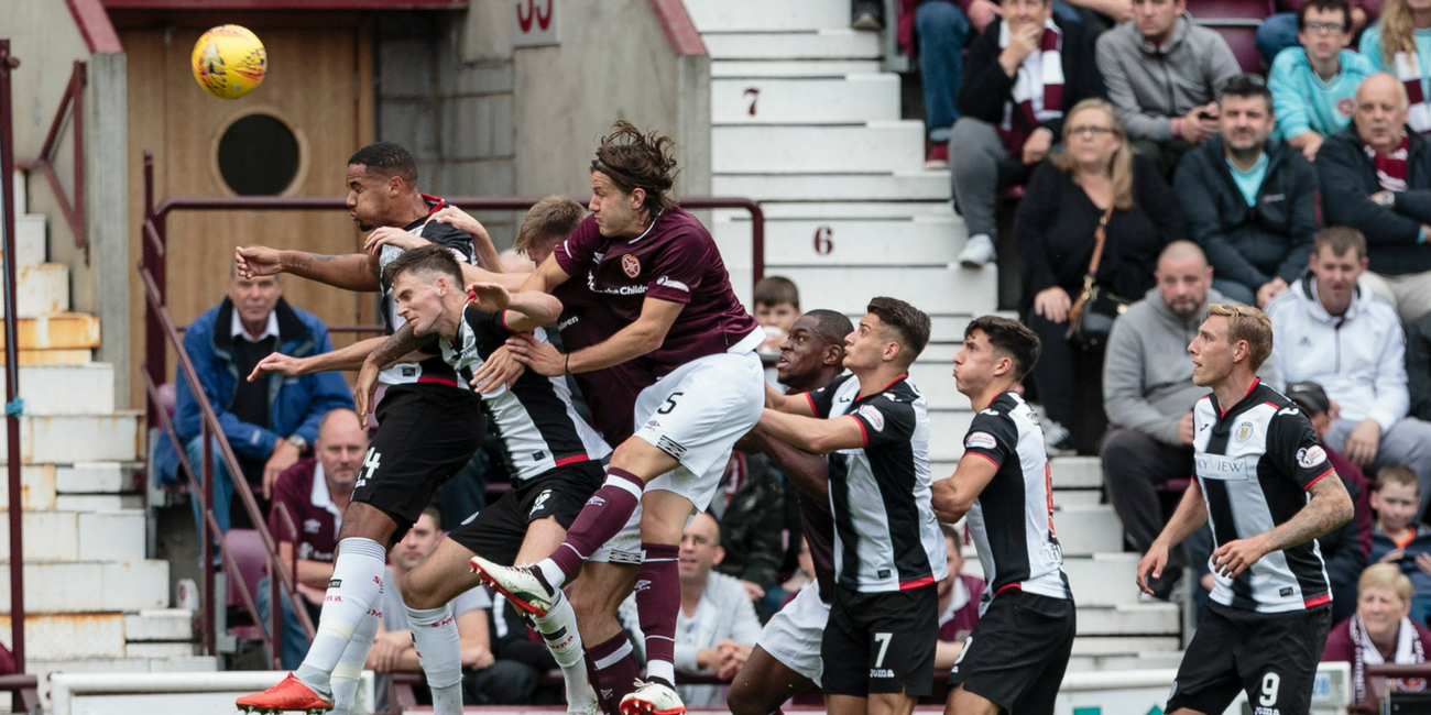Match Report: Hearts 4-1 St Mirren