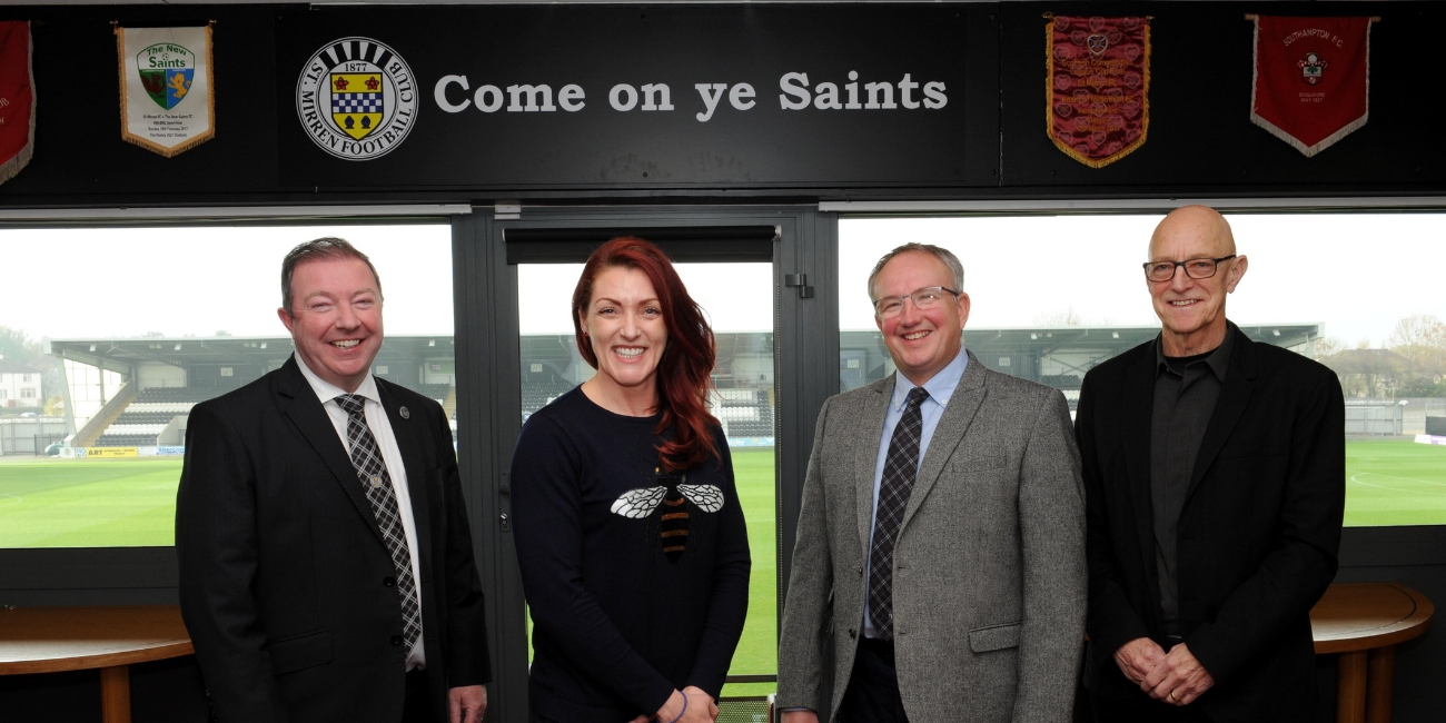 St Mirren FC Charitable Foundation relaunched