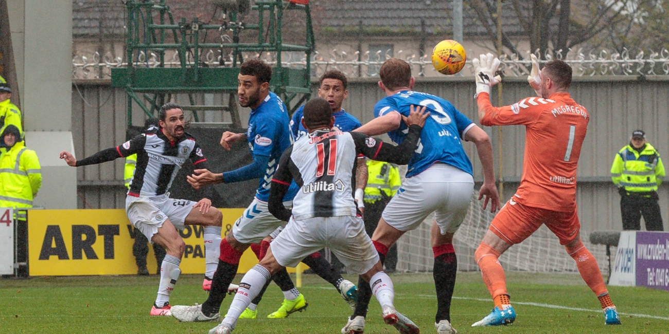 Match Report: St Mirren 0-2 Rangers