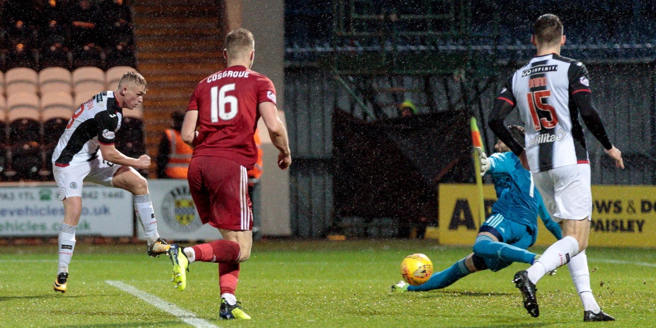 Match Report: St Mirren 1-2 Aberdeen