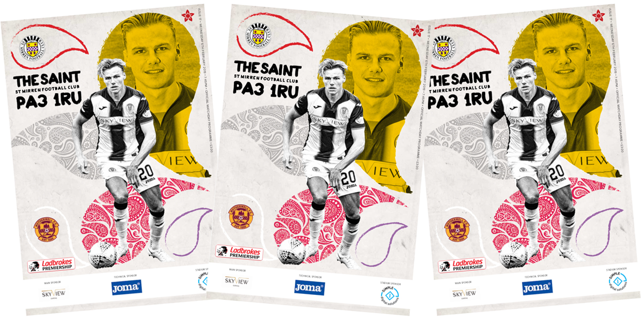 Match Day Programme: St Mirren vs Motherwell (6th Feb)