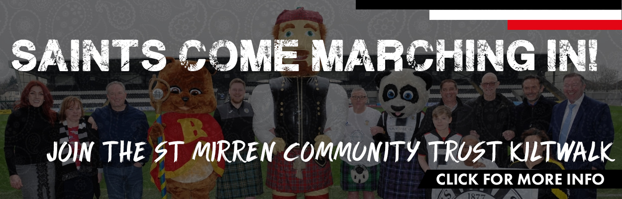 St Mirren Community Trust Kiltwalk