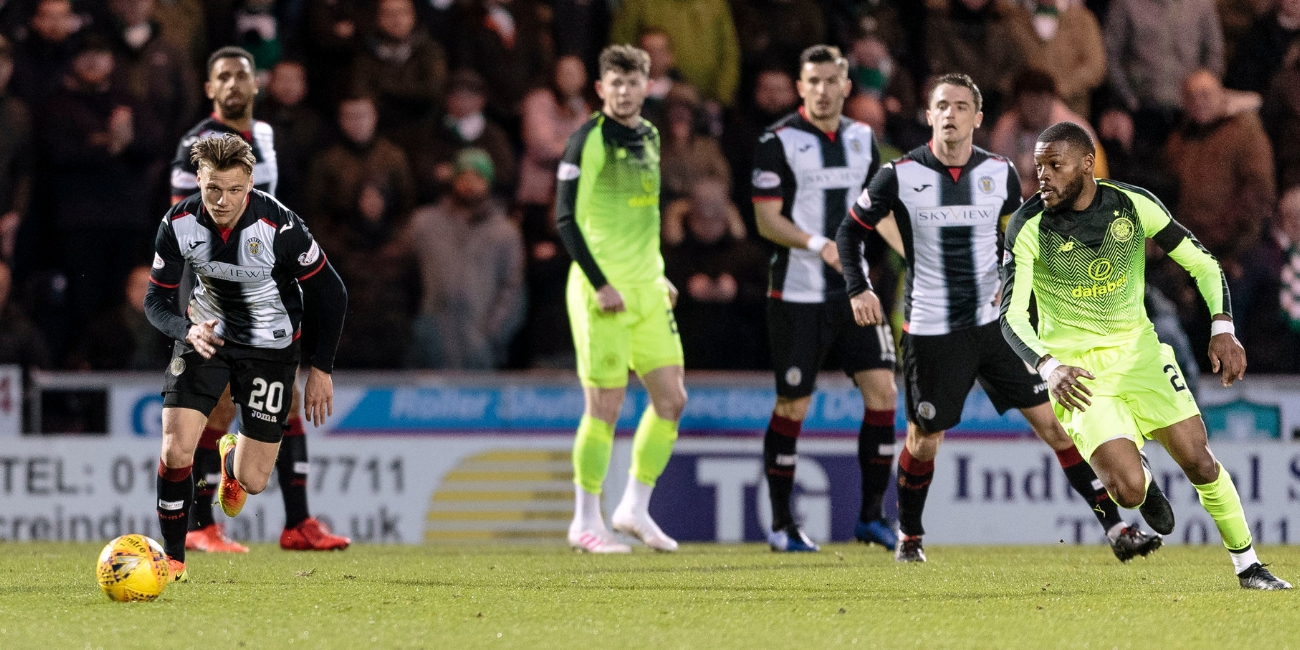 Match Report: St Mirren 0-2 Celtic