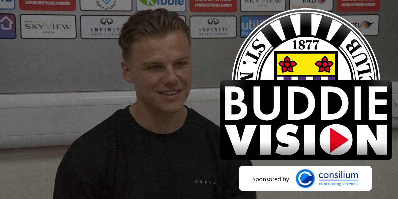 Buddievision: Press Conference - Cody Cooke Pre-Dundee