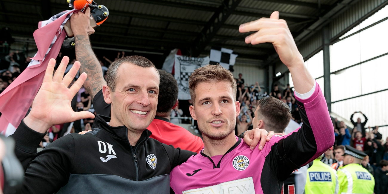 Reaction: Oran Kearney Post-Dundee United Play-Off Final