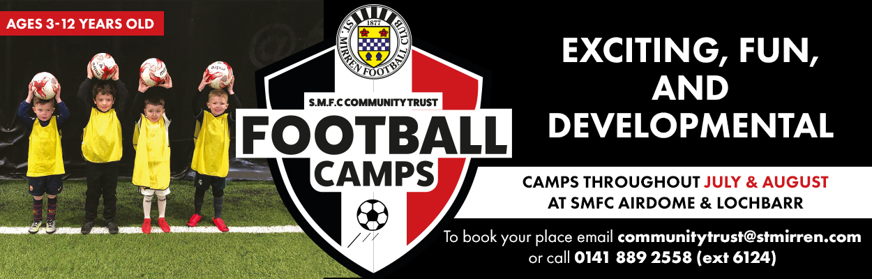 St Mirren FC Charitable Foundation camps