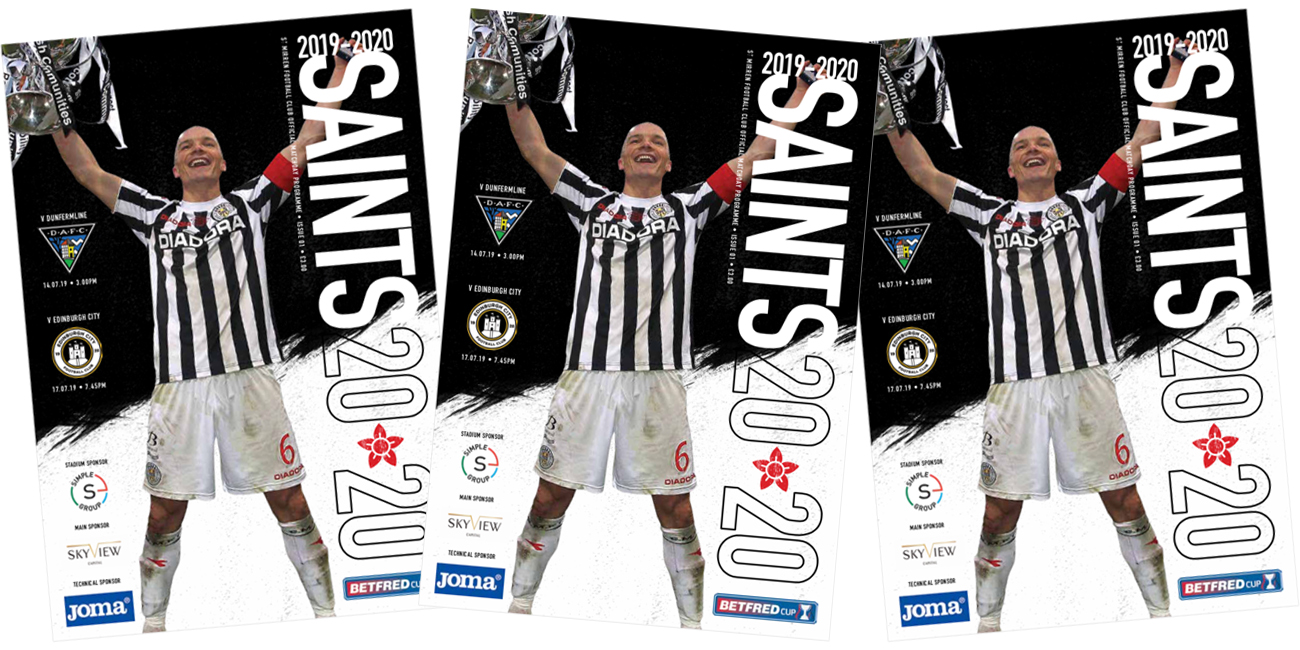 Programme: St Mirren vs Dunfermline (14th Jul)