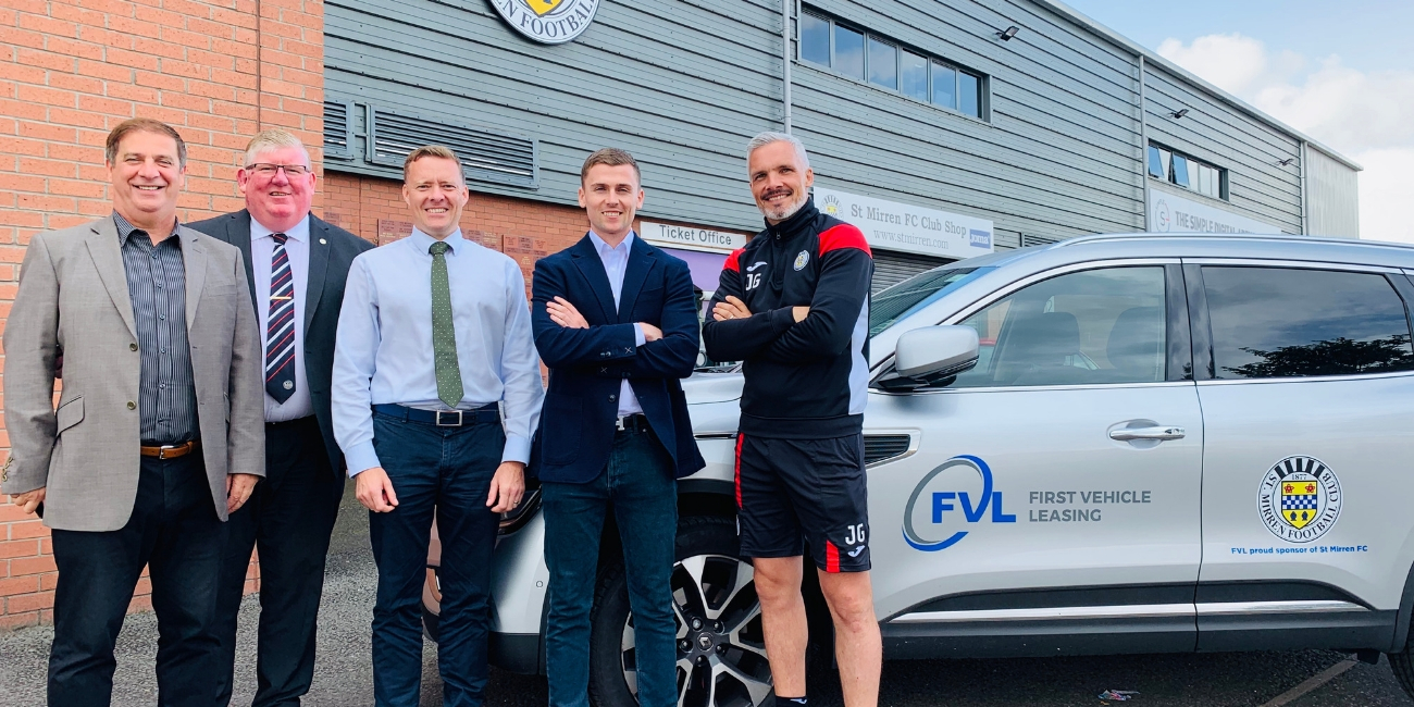 First Vehicle Leasing on board as official vehicle supplier