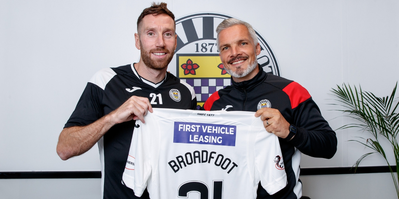 Jim Goodwin hails signing of Kirk Broadfoot