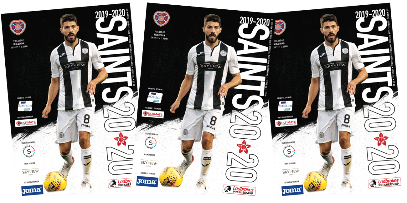 Programme: St Mirren vs Hearts (28th Sep)