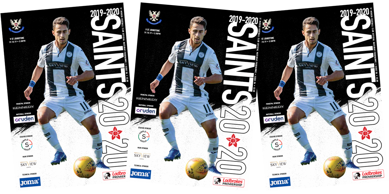 Programme: St Mirren vs St Johnstone (19th Oct)