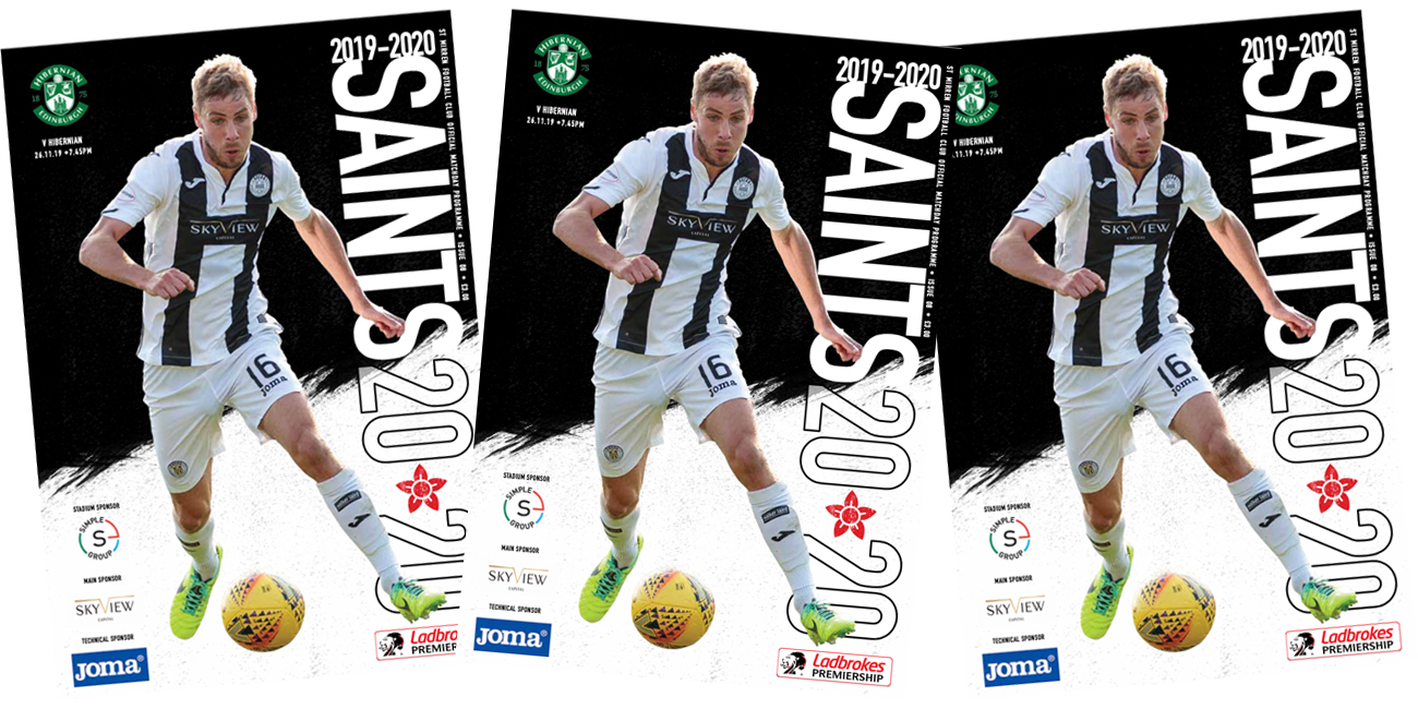 Programme: St Mirren vs Hibernian (26th Nov)