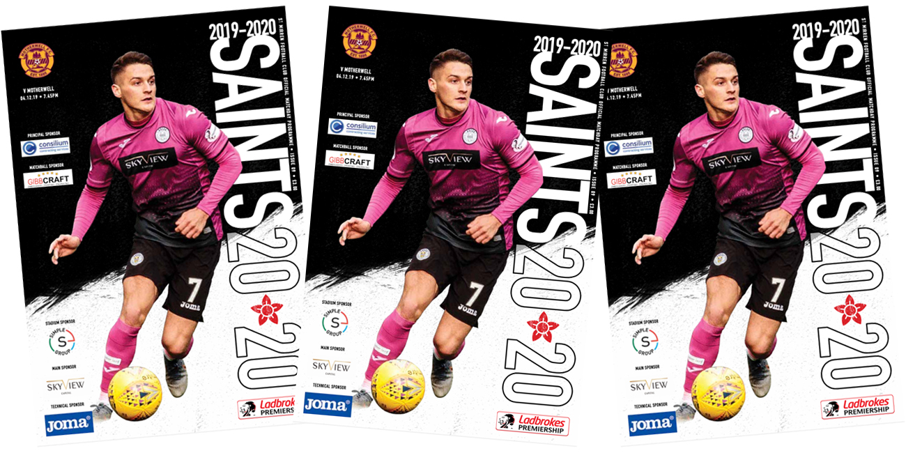 Programme: St Mirren vs Motherwell (4th Dec)
