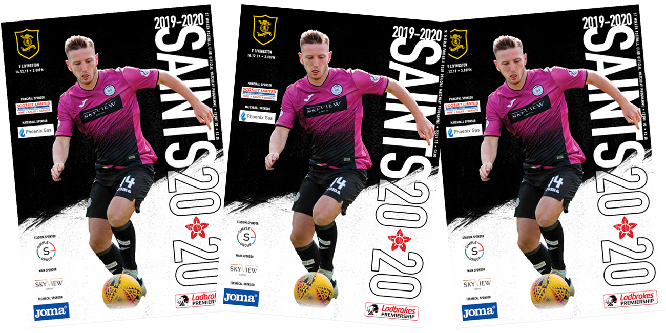 Programme: St Mirren v Livingston (14th Dec)