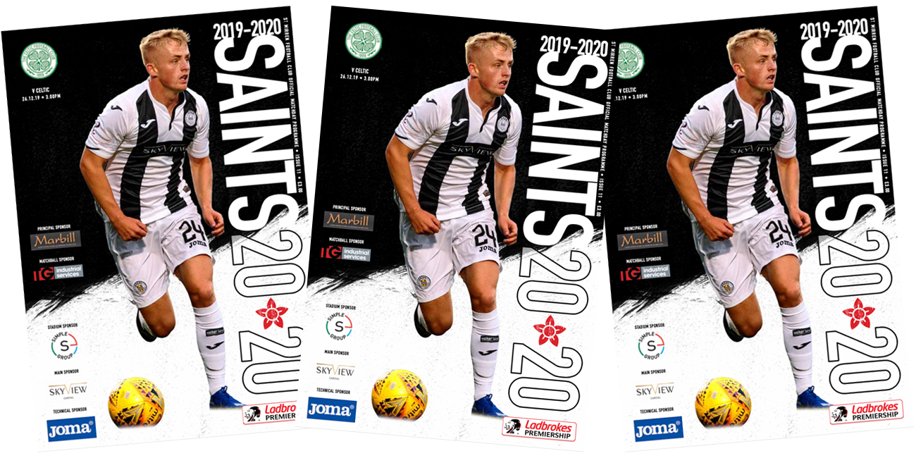 Programme: St Mirren v Celtic (26th Dec)