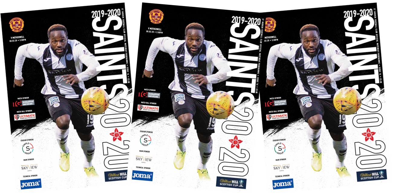 Programme: St Mirren v Motherwell (8th Feb)