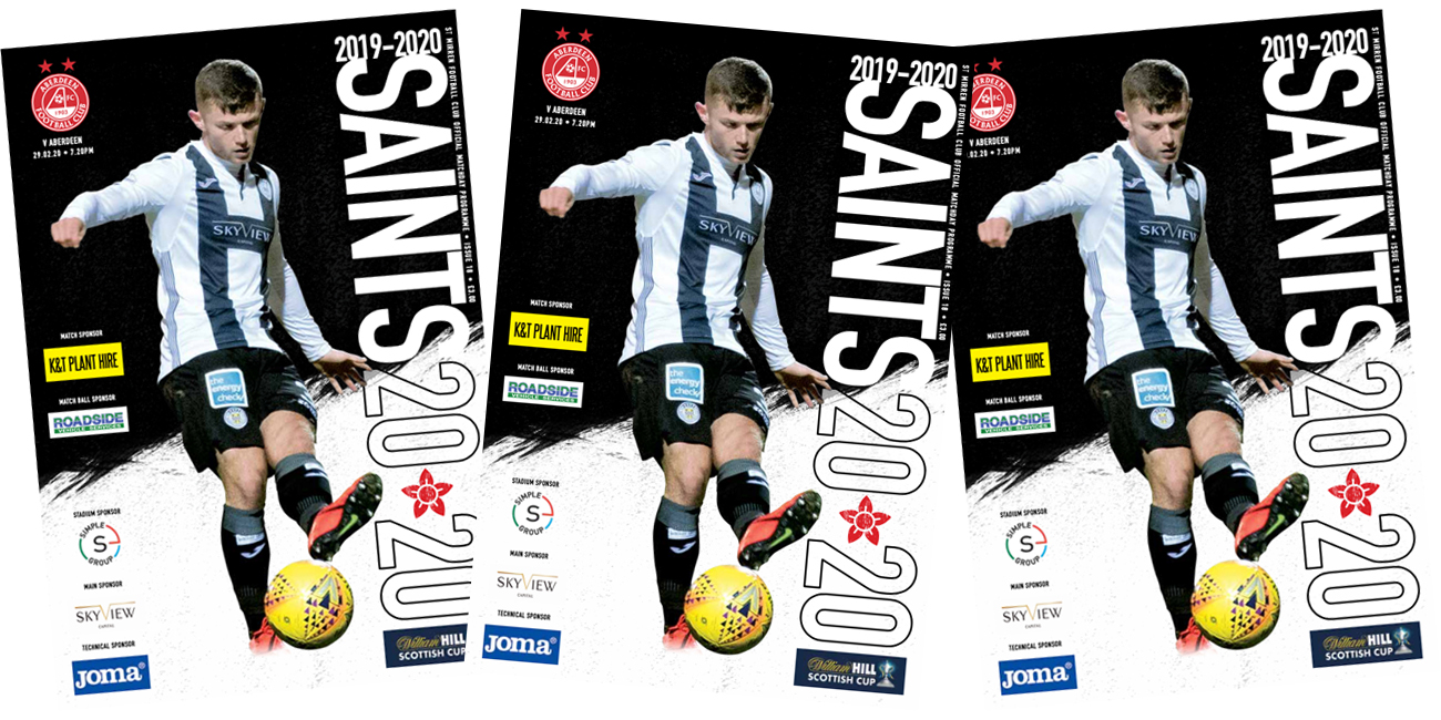 Programme: St Mirren v Aberdeen (29th Feb)
