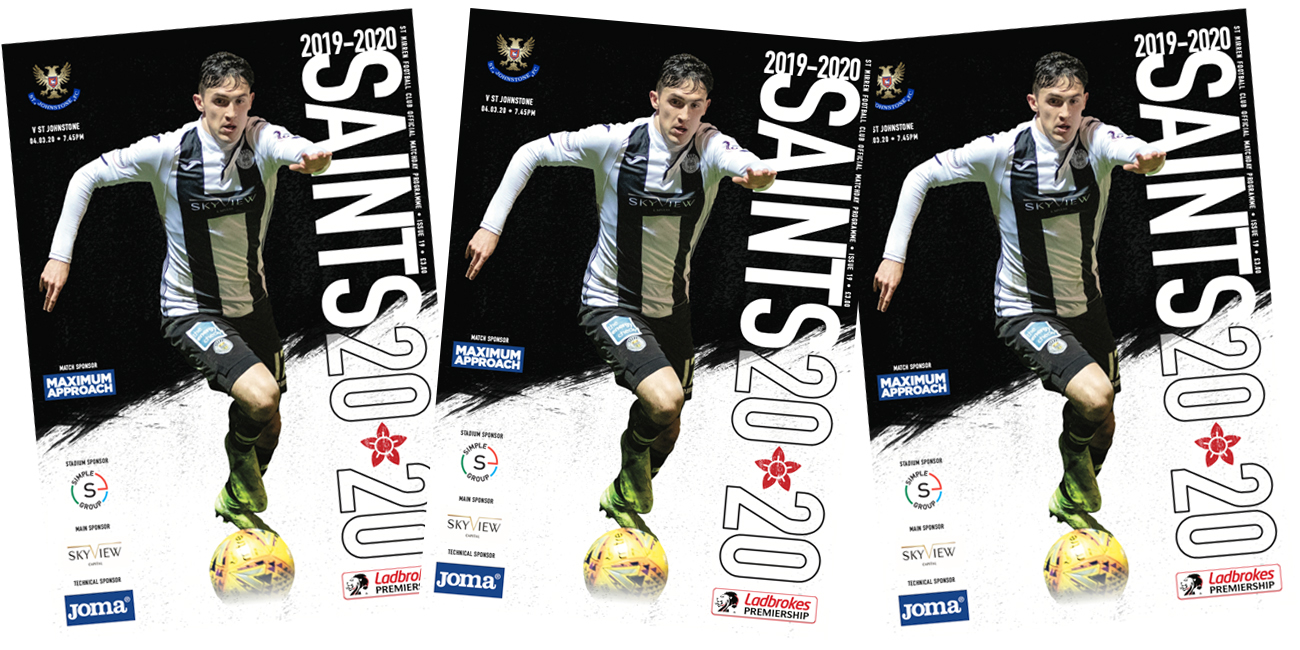 Programme: St Mirren v St Johnstone (4th Mar)