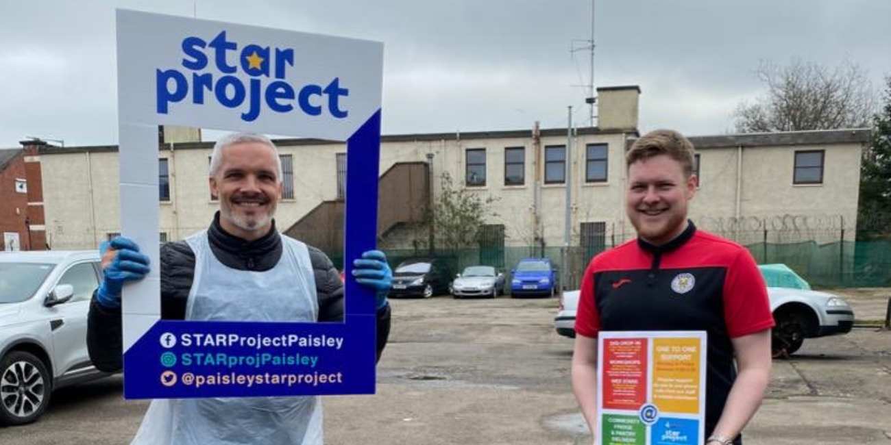 St Mirren Charitable Foundation - Star Project Paisley