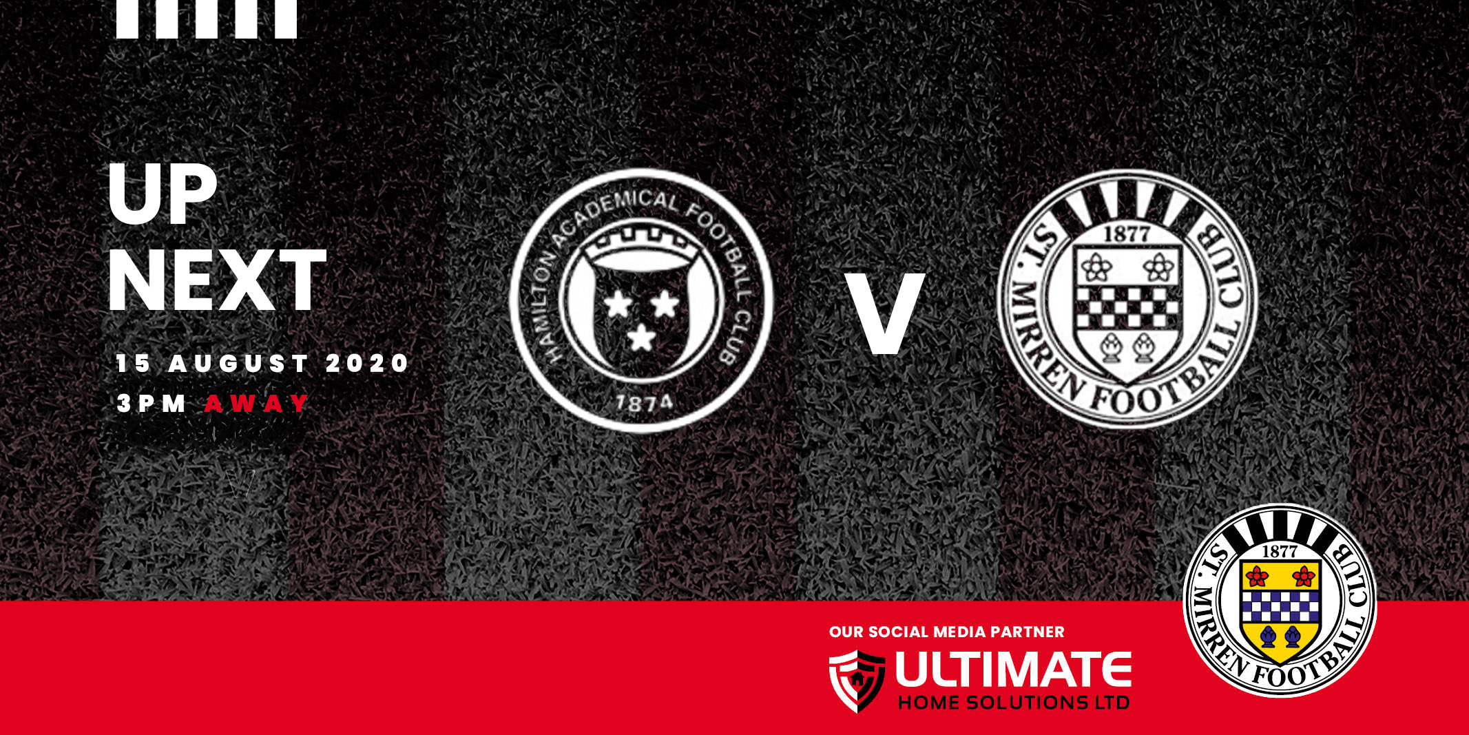 Up next: Hamilton v St Mirren (15th August 2020)