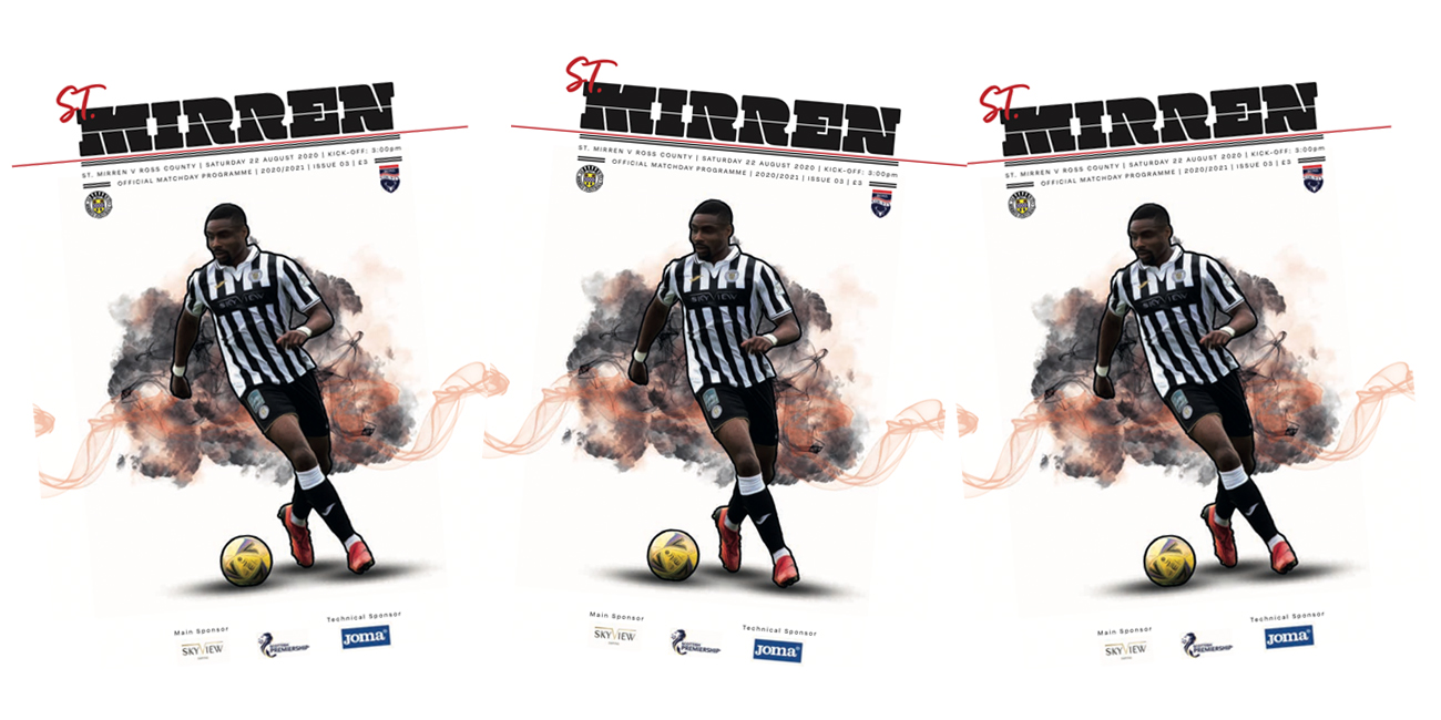 Programme: St Mirren v Ross County (22nd Aug)