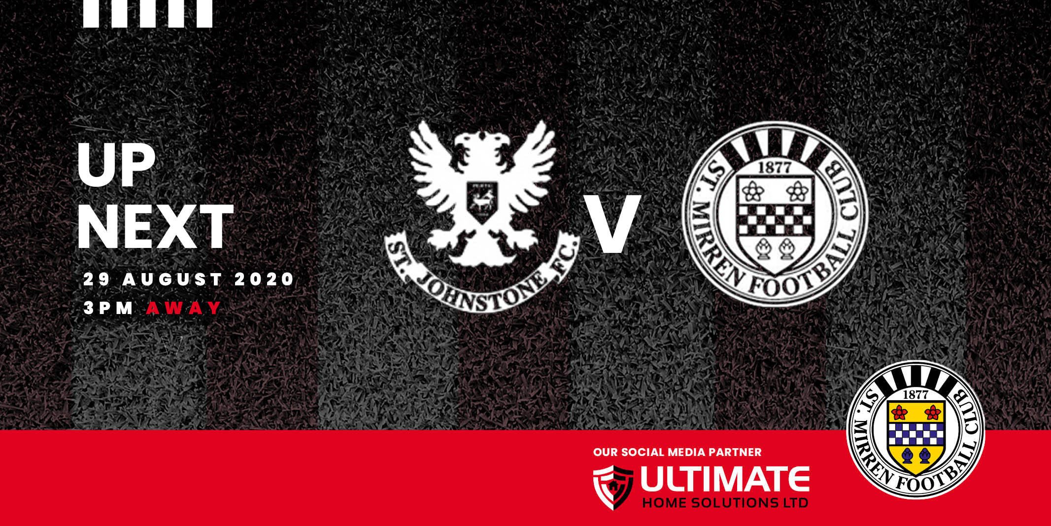 Up next: St Johnstone v St Mirren (29th Aug 2020)