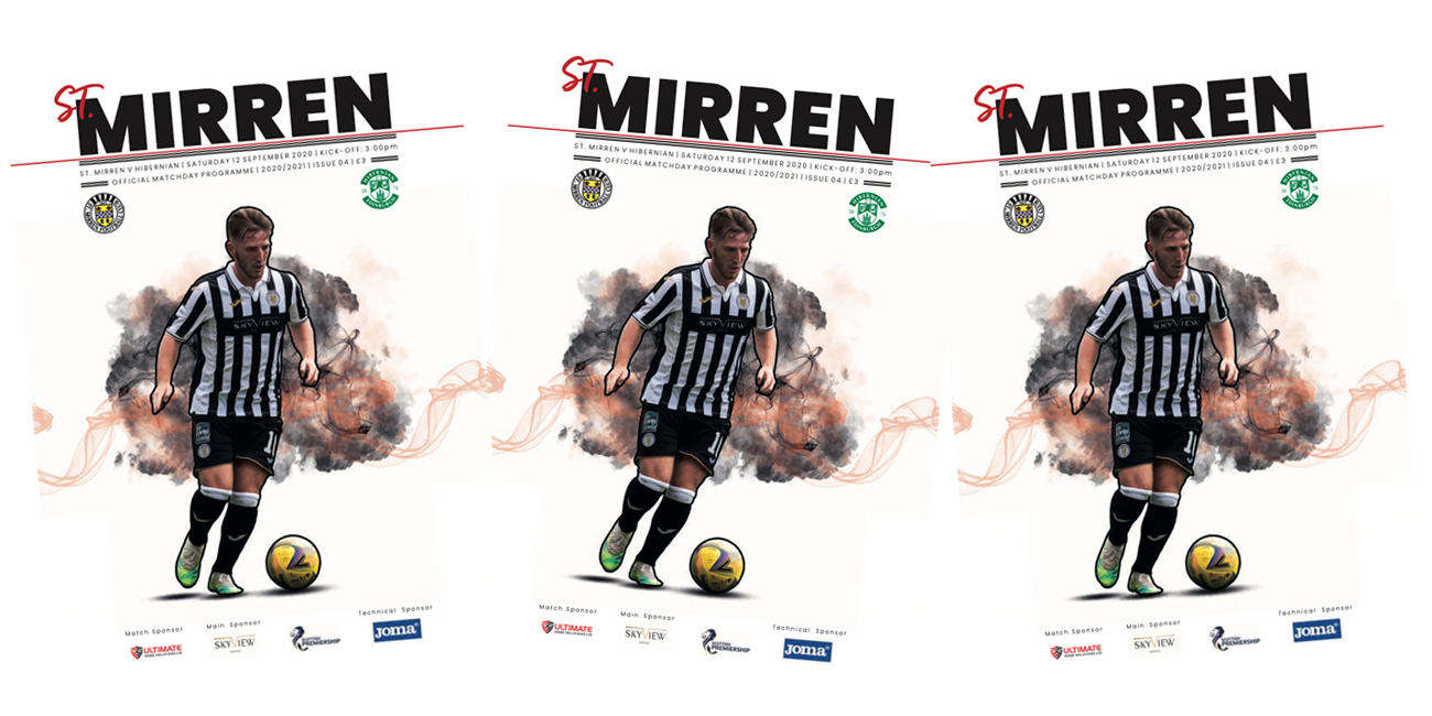 Programme: St Mirren v Hibernian (12th Sep)