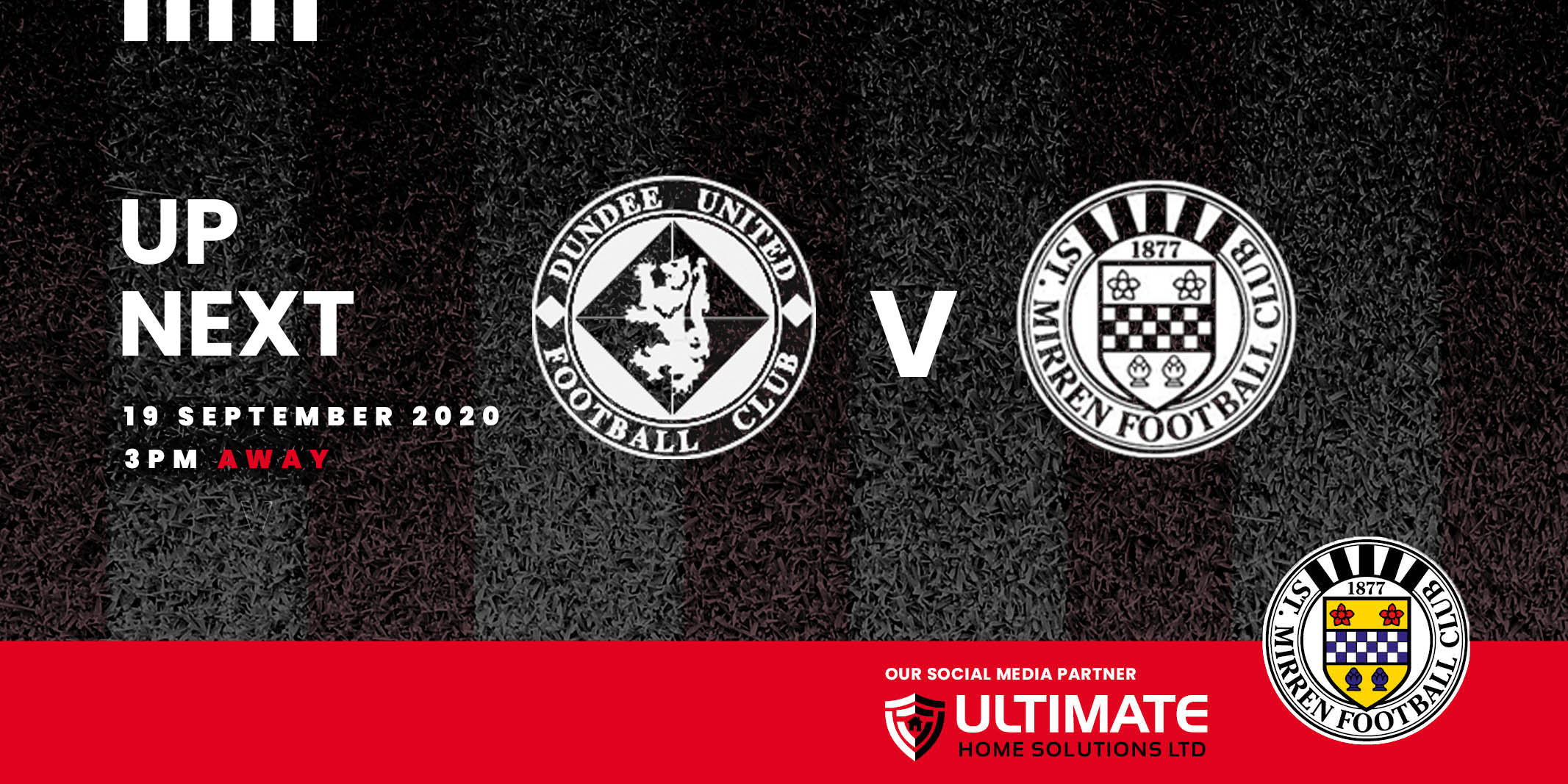 Up next: Dundee United v St Mirren (19th September)