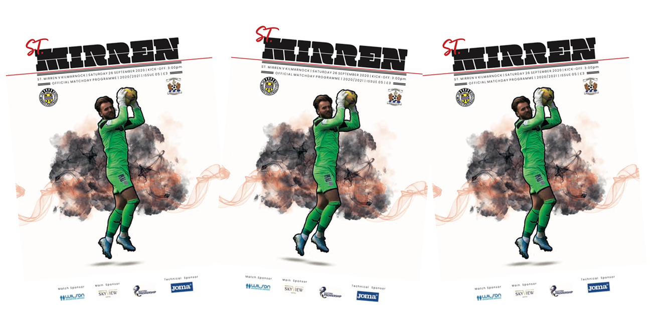 Programme: St Mirren v Kilmarnock (26th Sep)