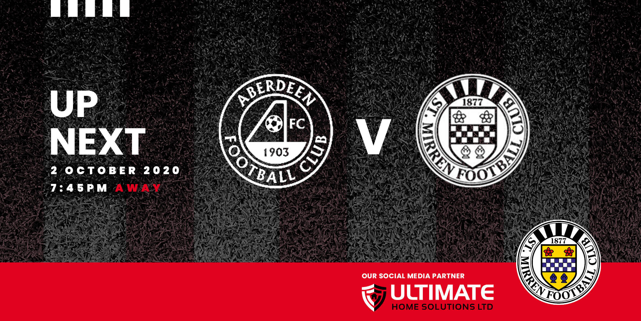 Up next: Aberdeen v St Mirren (2nd Oct)