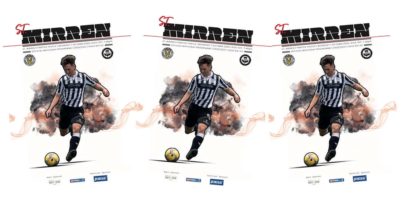 Programme: St Mirren v Partick Thistle (7th Oct)