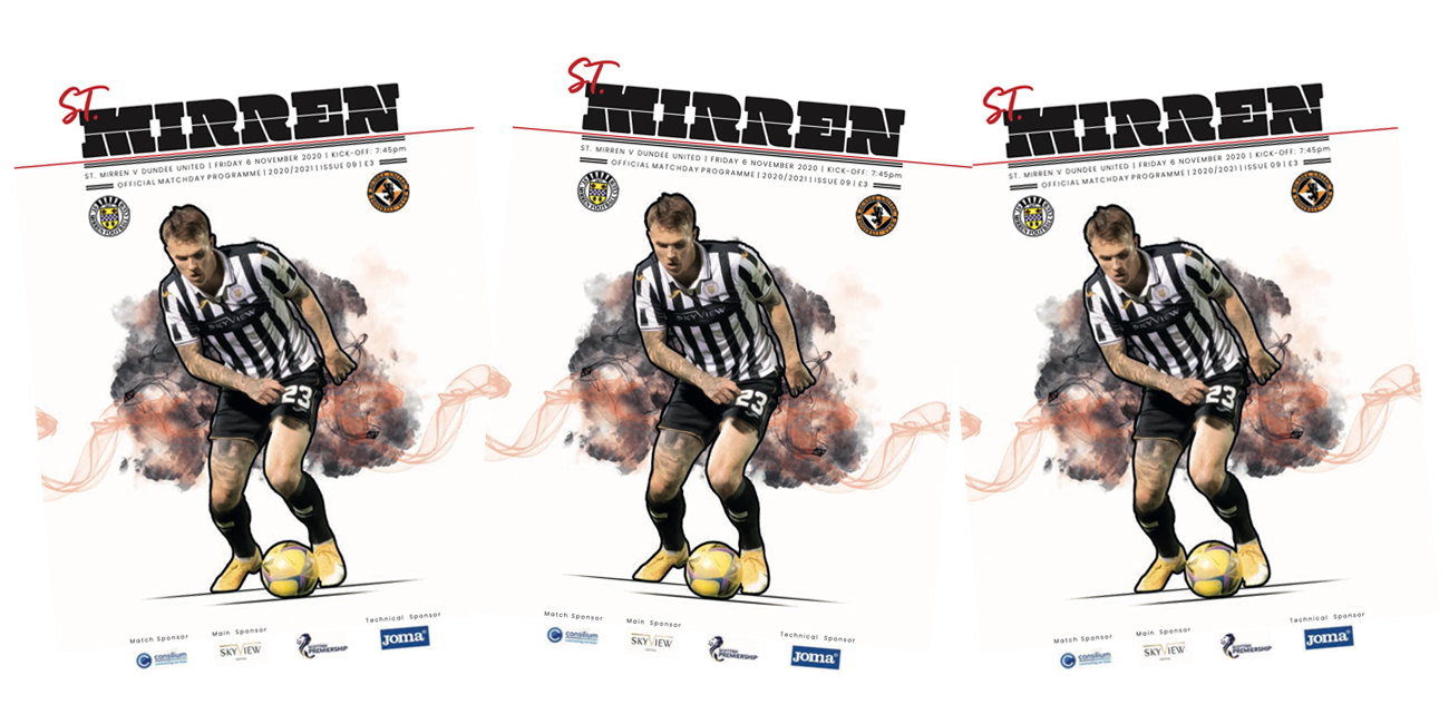 Programme: St Mirren v Dundee United (6th Nov)