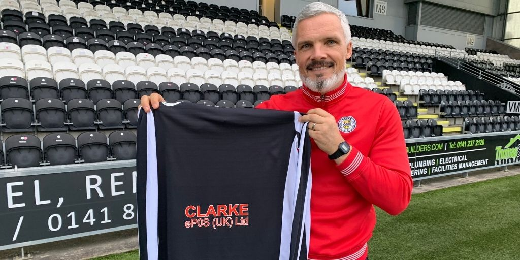 St Mirren delighted to welcome new back of shirt sponsor