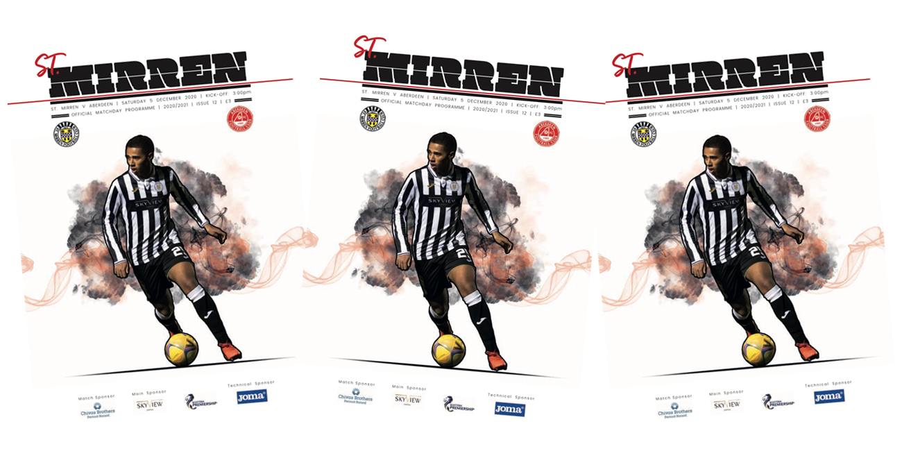 Programme: St Mirren v Aberdeen (5th Dec)