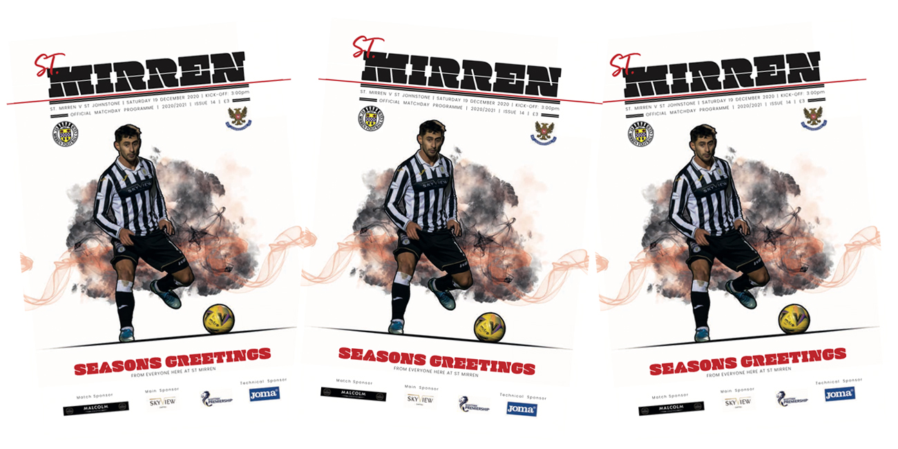 Programme: St Mirren v St Johnstone (19th Dec)