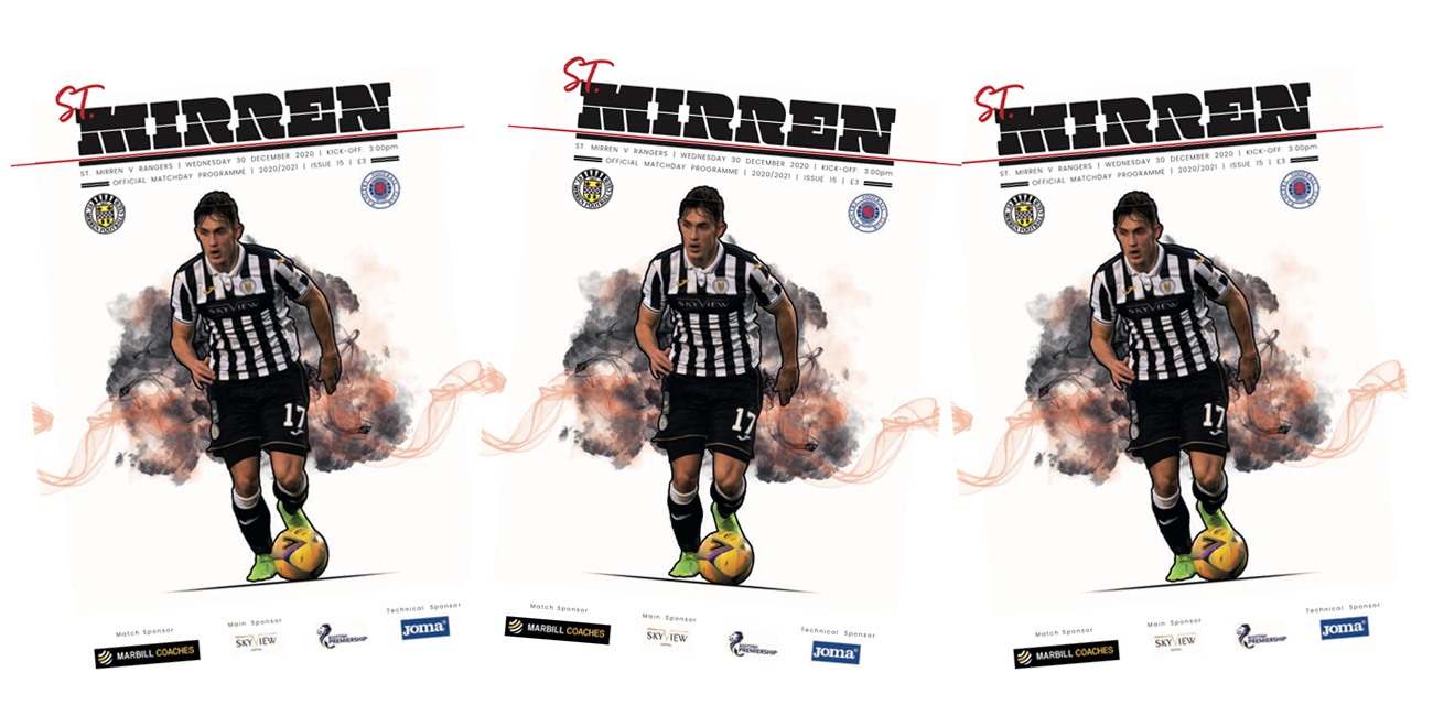 Programme: St Mirren v Rangers (30th Dec)