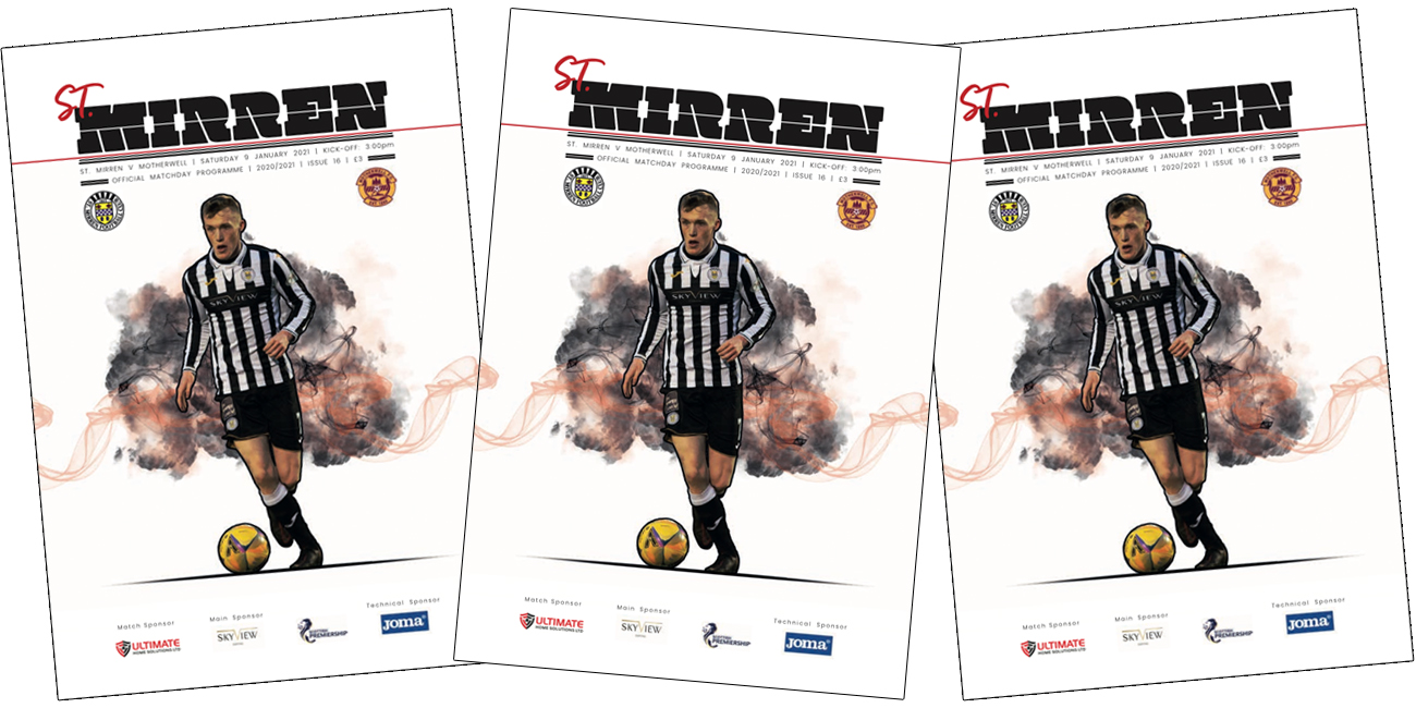 Programme: St Mirren v Motherwell (9th Jan)