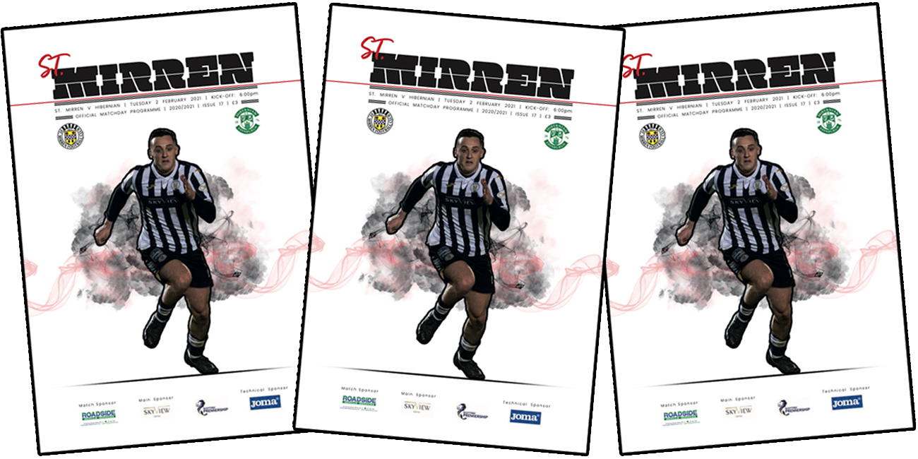 Programme: St Mirren v Hibernian (2nd Feb)