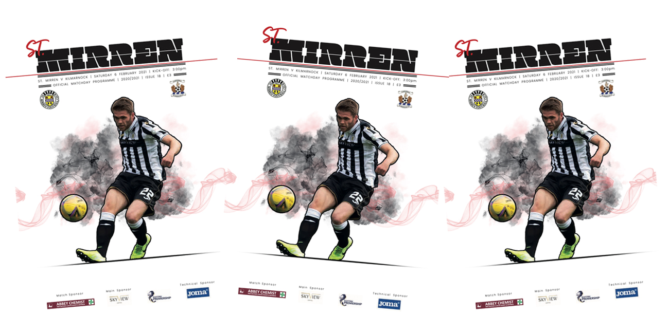Programme: St Mirren v Kilmarnock (6th Feb)