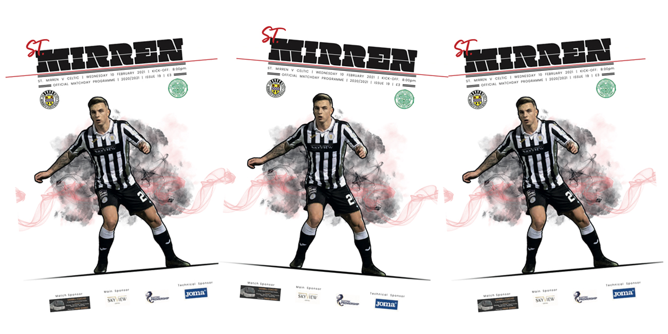 Programme: St Mirren v Celtic (10th Feb)