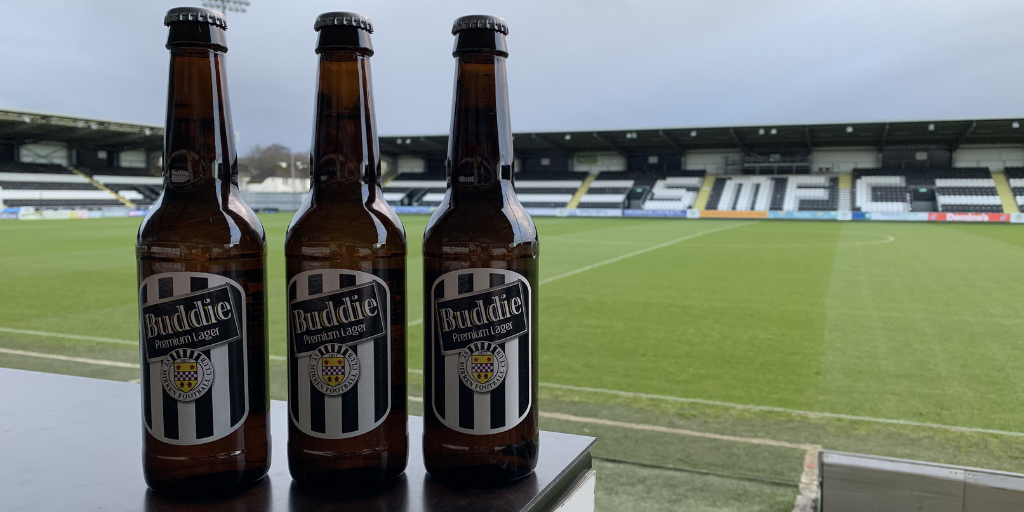 St Mirren to offer Free Delivery of Buddie Lager
