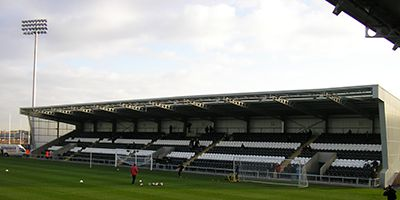 West College Scotland Family (South) Stand