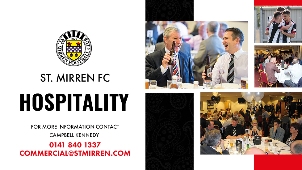 Hospitality: Hearts (28th September)